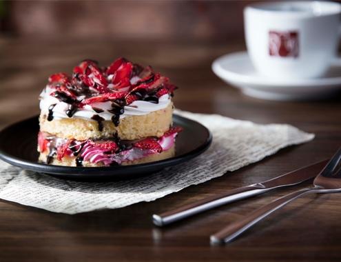 کافه باغ ولنجک VELENJAK CAFE کیک دسر CAKE